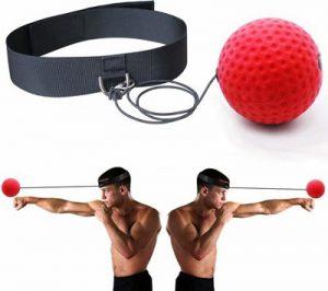 Deze boks reflexbal is een leuke manier om je reflexen, motoriek en conditie te verbeteren.