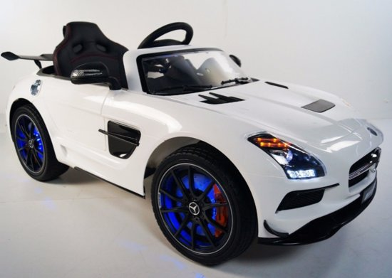 Mercedes SLS AMG Premium Elektrische Kinderauto met LED