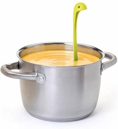 Deze Neesie soeplepel is door zijn grappige design en vrolijke kleuren een leuke toevoeging aan iedere keuken.