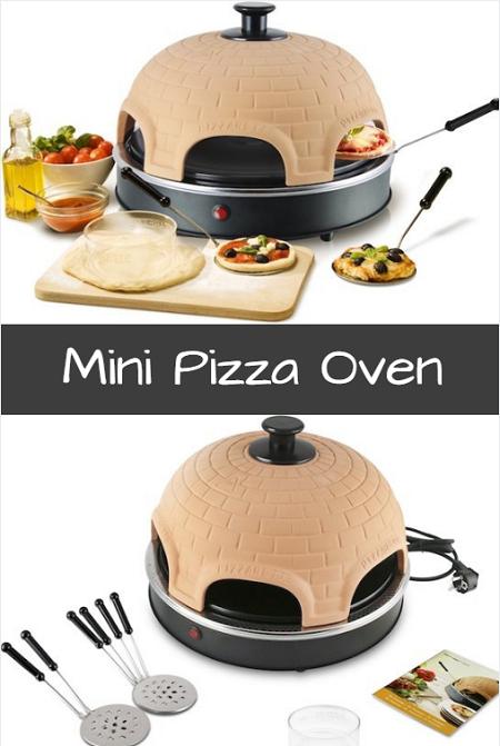Deze mini pizza oven is de leukste en gezelligste manier om zelf pizza's te maken.