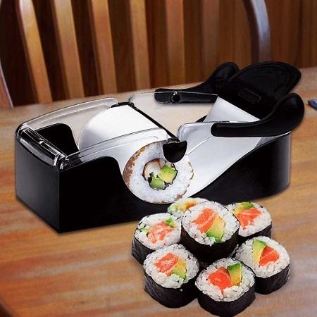 Sushi maker. Het rollen van perfecte sushi was nog nooit zo simple.