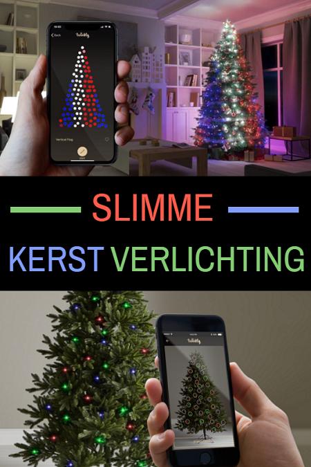 Eindeloos plezier met deze Twinkly Smart LED kerstverlichting.