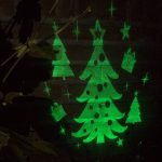 Kerstboom LED Projector