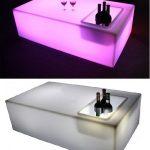 Buitentafel met LED Verlichting en Koelvak