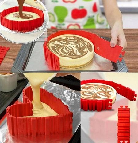 Magic Snake cakevorm. Leuk om unieke baksels mee te maken.