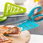 Pizzaschaar met Schep