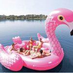 Mega Opblaasbare Flamingo
