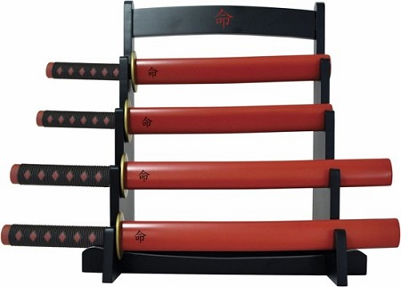 Samurai keukenmessen set - perfect voor de ware keuken ninja.