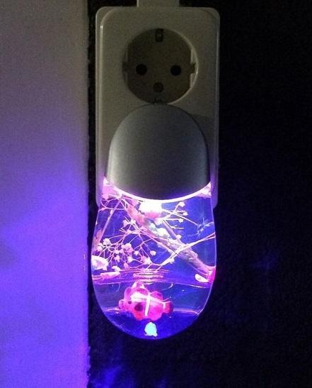 LED Nachtlamp Aquarium