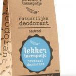 Lekker in een Potje - Natuurlijke Deodorant
