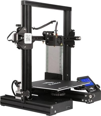 Ender-3 3D-Printer met Hotbed