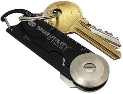 Met deze handige multitool sleutelhanger heb je voortaan een complete gereedschapsset aan je sleutelbos hangen.