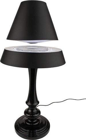 Deze zwevende tafellamp zal je vrienden, familie en bezoek verbijsteren. De zwevende lampenkap en sfeervolle LED verlichting met meerdere standen geven een magisch effect.