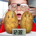 Digitale Aardappel Klok