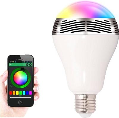 Bluetooth Smart LED Gloeilamp met Speaker