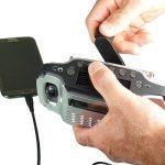 Solar-Dynamo Oplaadbare Radio – Zaklamp – Oplader