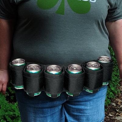 Beer Belt – Geschikt voor 6 Blikjes Bier