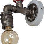 Fire Hose Wandlamp - Industriële Lamp