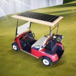 Golfkarretje Op Zonne-Energie