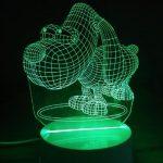 Nachtlampje - Hond met 3D Effect