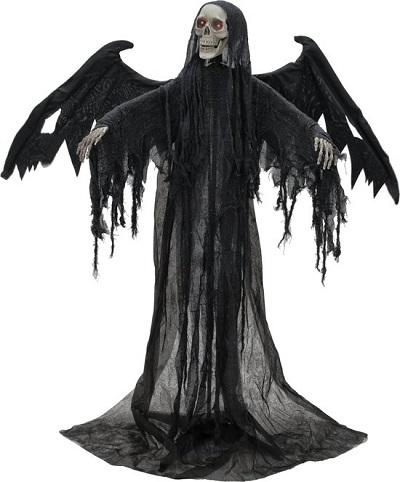 Halloween Skelet Met Vleugels