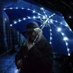 LED Paraplu - Sterrenhemel