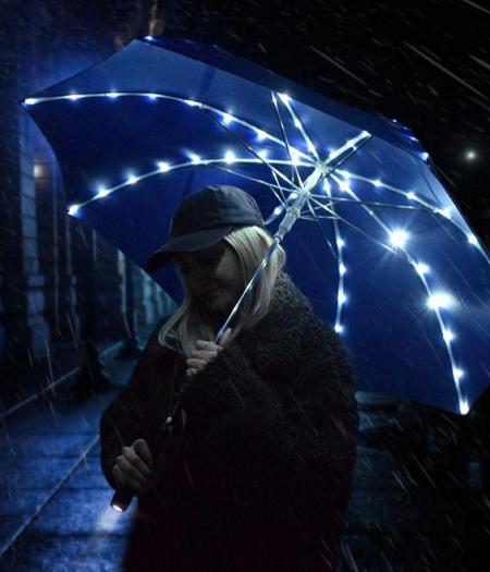 Sterrenhemel LED paraplu