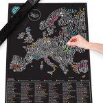 Scratch Map Gourmet Europa