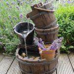 Waterornament met Emmers en Waterval