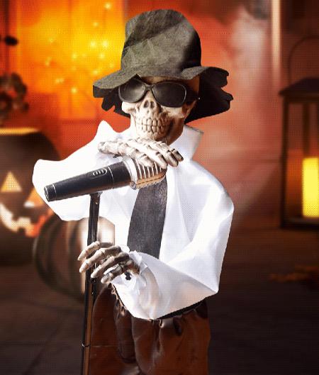 Zingend Skelet – Halloween