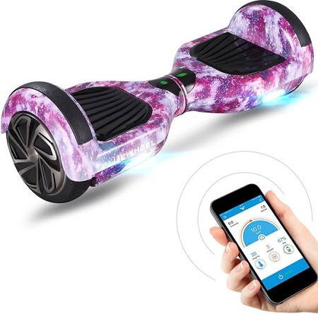 Hoverboard met Bluetooth Speaker en LED Verlichting