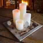 LED Kaarsen Kerst Set