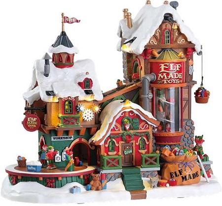 Lemax Kerstdorp – Elf Made Speelgoedfabriek
