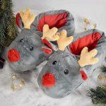 Rendier Sloffen – Kerst Pantoffels