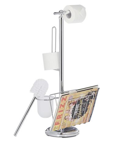 Toiletrolhouder met Tijdschriftenrek