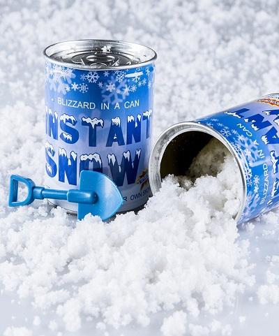 Instant Snow – Sneeuw In Een Blikje