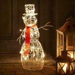 Sneeuwpop Kerstverlichting Buiten - LED - Warm Wit