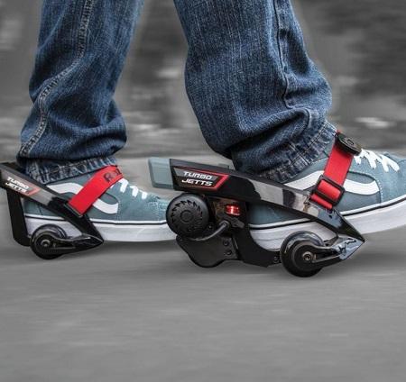 Turbo Jetts hielwielen/elektrische skates van Razor.