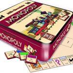 Chocolade Monopoly Spel in Luxe Vintage Bewaarblik