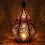 Oosterse Lantaarn voor Kaarsen en Elektrische verlichting