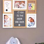 Collage Fotolijst met Letterbord, Prikbord en Whiteboard