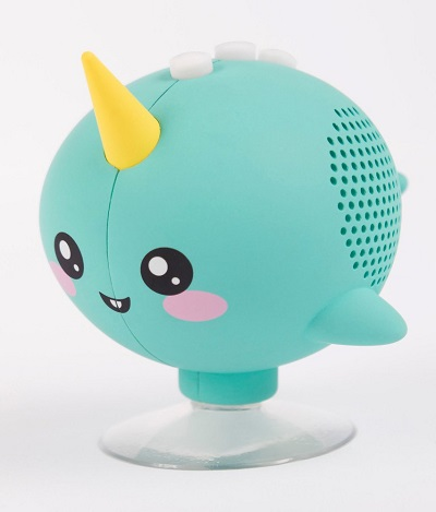 Kawaii Narwal Bluetooth Douchespeaker