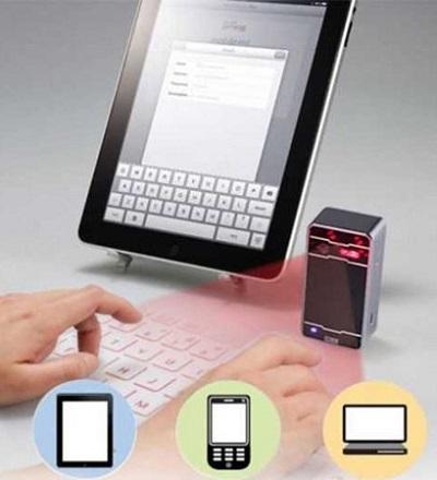 Virtueel Bluetooth Toetsenbord