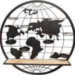 Wereldkaart Wandrek
