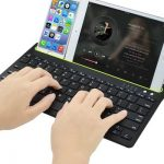 Draadloos Toetsenbord voor Smartphone en Tablet