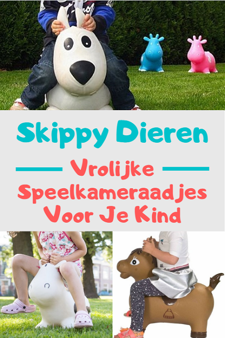 Skippy dieren - vrolijke speelkameraadjes voor je kind die garant staan voor eindeloos speelplezier.