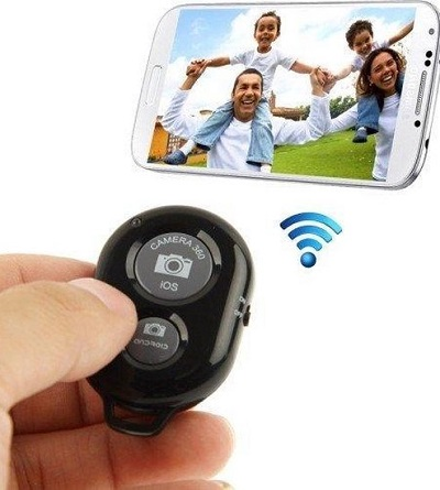 Bluetooth Shutter – Remote Ontspanner voor iPhone & Android