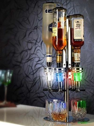 LED Bar Butler – Flessenhouder en Drank Dispenser