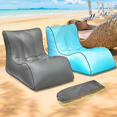 Lucht Zitzak – Opblaasbare Loungestoel