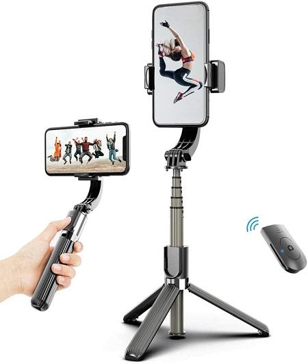 Gimbal Stabilizer Selfie Stick Statief Met Afstandsbediening